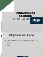 Cambios ISO 9001 2015 Rev0