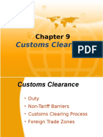 Chapter 9 Customs Clearance