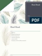 Haul Road