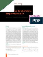 Diagnóstico de Laboratorio Parvovirus B19