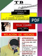 Defensa Grado Oficial 5 Nov