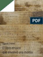 El libro etrusco que envolvió una momia