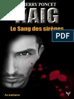 EXTRAIT du roman « HAIG - Le Sang des sirènes » de Thierry Poncet