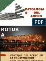 patologias del acero