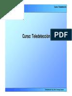 Fundamentos de Teledetección