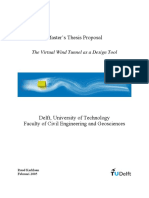 Design Tools for the Virtual Wind Tunnel Setting Up the Geometry for CFD Calculations - Werkplan (1)