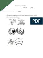 Evaluación Formativa II Zonas de Chile y Simbolos Patrios
