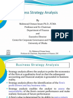 Business Stragegy Analysis