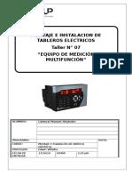 medicion de alta tencion (megger)