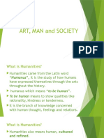 Art, Man and Society
