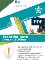 Plantilla Sena Power Point