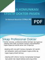 Aplikasi Komunikasi Efektif Dokter-pasien