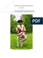"""Steven M. Baule, """"Drummers in the British Army during the American Revolution,"""" Journal of the Society for Army Historical Research"""
