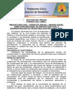 Curso de Protecion Civil y Administracion de Desastres