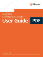 Magento Community Edition 2.0 User Guide