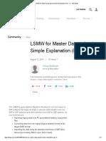 LSMW for Master Data upload Simple Explanation (Part - 1) - SAP Blogs.pdf