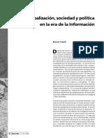 Manuel Castells 2000 Dialnet. GlobalizacionSociedadYPoliticaEnLaEraDeLaInformacion