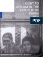 Right to asylum in the Republic of Serbia in 2015
