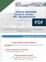 Matricula MASTERS Curso Q1 16_17_CAST