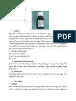 Isi Bahan Formokresol, Ferric Sulfate Dan Glutardehide