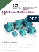 4 Motor Designs Identified in NEMA MG1 _ EEP