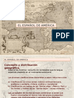 Español de America 2015