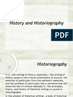 Historiography PPT