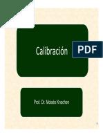 Clase 01 y 02 - Proceso de Calibración