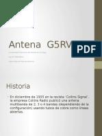 Antena zeppelin o G5RV