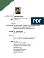 Ehsan Rezapour CV