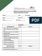 Instrumento Evaluacion de Aula Virtual II-2016