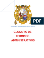 74215129 Glosario de Terminos Administrativos