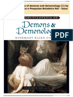 Download as PDF the Encyclopedia of Demons and Demonology (1