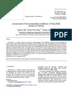 Environmental Assessment in a Stream OfTaiwan