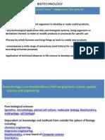 Topic1 Biotechnology