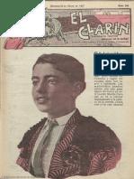 El Clarín (Valencia). 22-1-1927