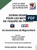 Affiche Ecran Géant