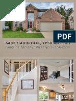 6403 Oakbrook Ypsilanti MI | Parkside Preserve West