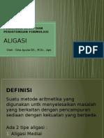aligasi