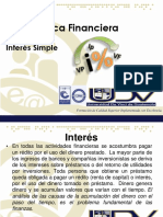 2.- Interes Simple - Matematica Financiera