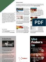 Fedora Brochure