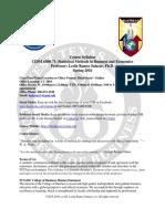 Syllabus - CIDM 6300 - Statistical Busin