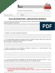 Lista de exercícios - ARQUITETURA MODERNA