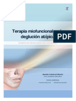 Terapia Miofuncional en La Deglucion Atipica