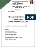 Reporte Mecanica Lim. Plast