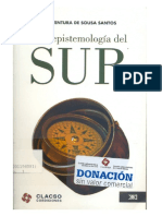 Boaventura de Sousa Santos Una Epistemologia Del SUR