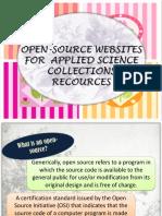 1open Source Websites