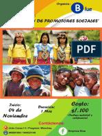 Brochure de Promotores Sociales