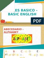 Ingles Basico – Basic English