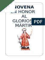 Novena en Honor a San Lorenzo